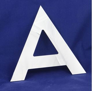 Immagine di Lettere in dibond mirror h 30 cm